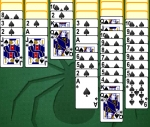 Obrázek hry Spider solitaire