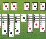 Obrázek stránky Free Cell solitaire